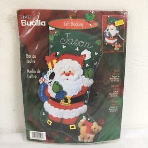 Bucilla 84593 Special Delivery Stocking Kit Santa Cat ...