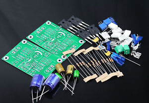 One-pair-PASS-ACA-5W-Single-ended-Class-A-FET-MOS-Power-amplifier-kit-DIY-AMP