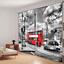 3D 2 Panels Blockout Drapes Fabric Photo Printing Window Curtain Mural Waterfall