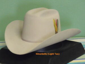 Image is loading STETSON-RANCHER-6X-FUR-FELT-COWBOY-WESTERN-HAT 2fb979a0500