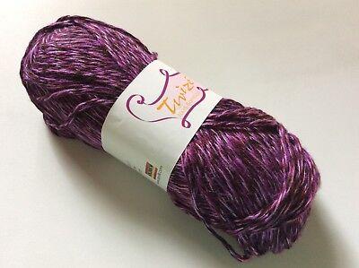 SWTC Twize #324 Twurple 100gr All Bamboo Yarn 120yd Purple Burgundy Worsted Soft
