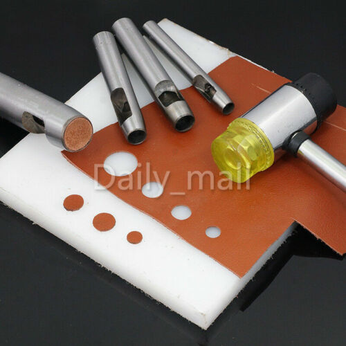 More Size Leather Craft Puncher Round Hollow Hole Punch Tool DIY Watchband Belt