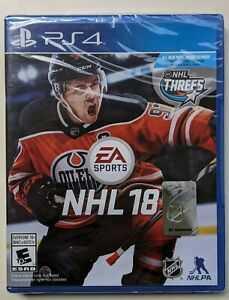 NEW-NHL-18-PS4-Sony-Playstation-4-2017-2018-Sealed-FREE-Canada-Shipping