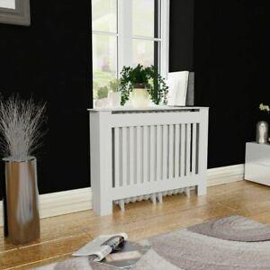 vidaXL-Radiator-Cover-Heating-Cabinet-112cm-White-MDF-Living-Room-Appliance