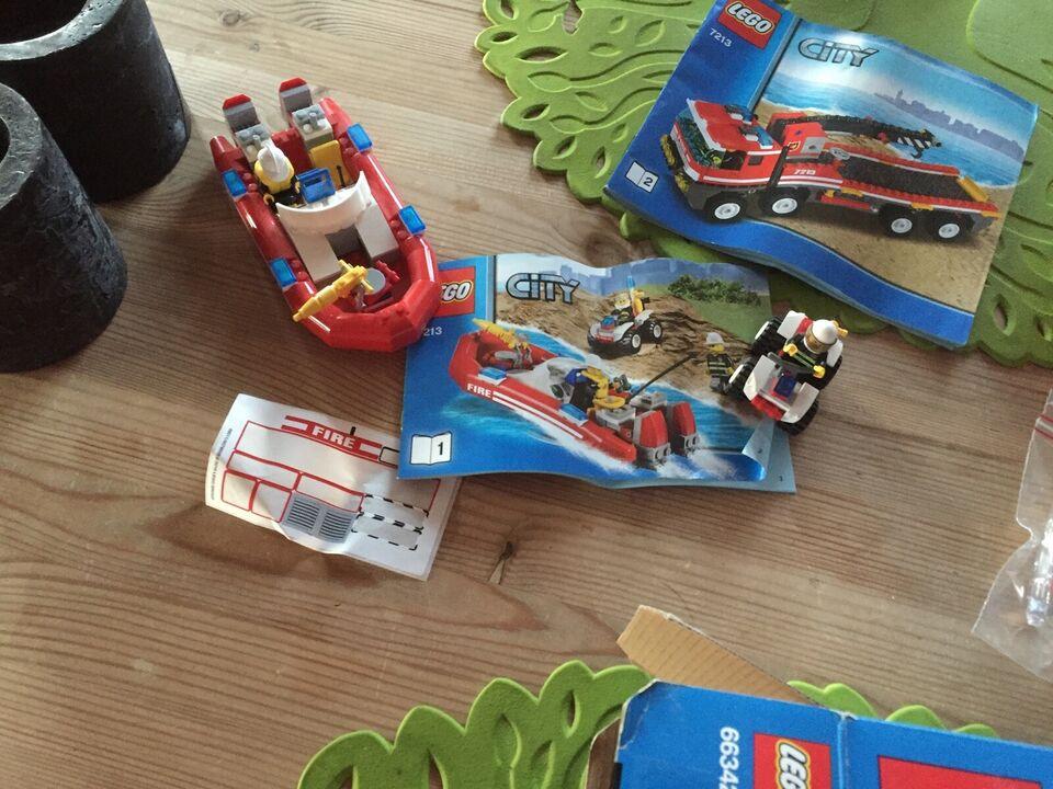 Lego City, 66342: Fire & Rescue Super Pack 3 in 1.