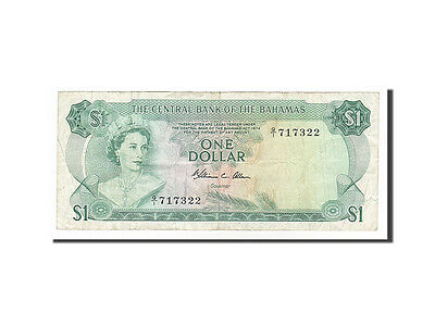 Devoted Km #35b #157173 1 Dollar 40-45 1974 Q/i717322 Clearance Price Ef Bahamas