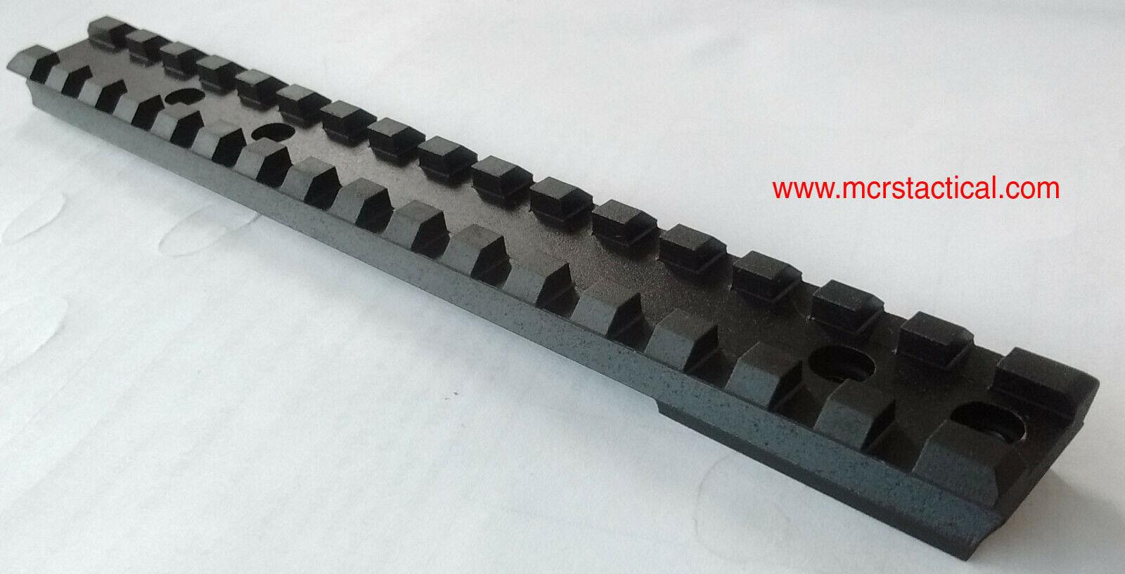 Carril Picatinny-Remington 7 SA de acción corta (0 a 70 Moa Mil)