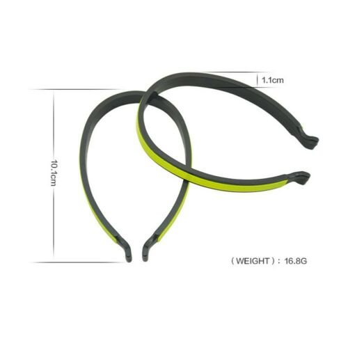 Reflective Trouser Clips Safety Strips Cycling Hi-Viz Bicycle High Visibility