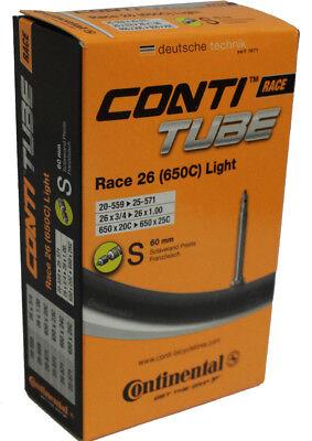 3 x Continental Race 26x1 650 x20//23c Presta tube
