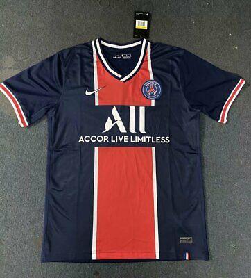 Paris Saint Germain Soccer Jersey Psg 20 21 Ebay