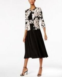 5986da3debe21 Jessica Howard Floral-Print Dress and Jacket Size 8 #C548 $99.00 ...