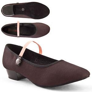 de noir toile chaussures caractère filles Lhchar talon par danse de de Syllabus de vitesse bas de de la qBzWvtg