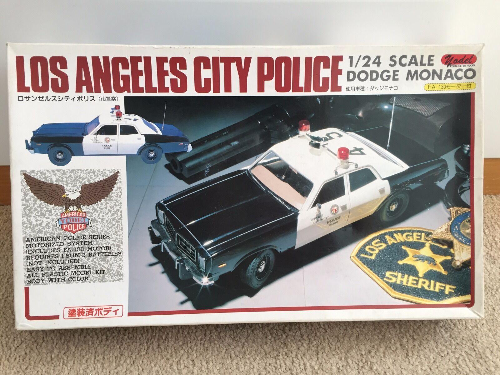 1 24 Yodel Dodge Monaco L.A. City Police