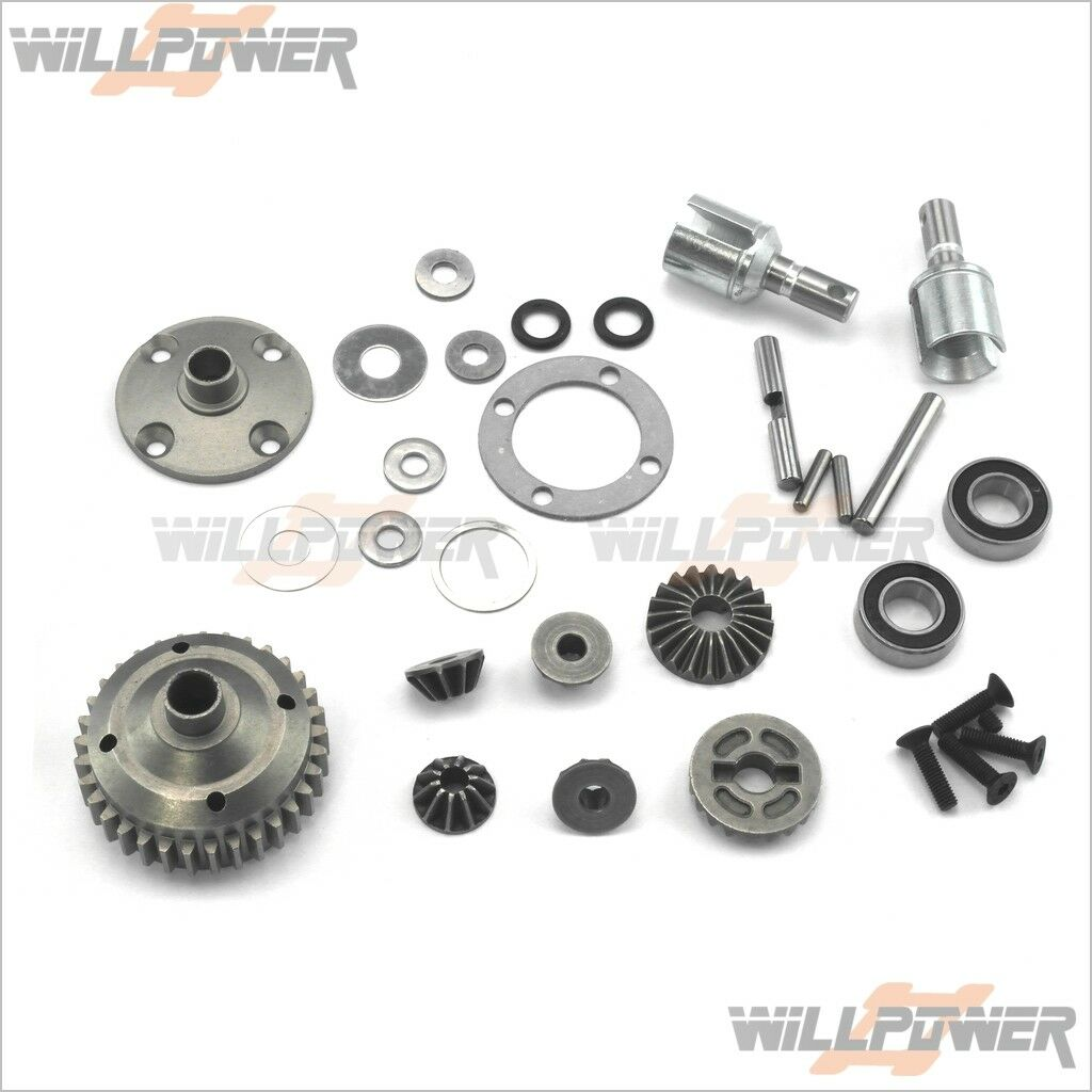 Center Differential w   Steel Case  505305 (RC-Willenergia) squadraMagic E6 III BES  punti vendita