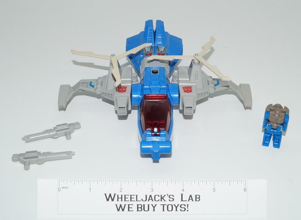 Refinados Menta 100% COMPLETO Vintage Hasbro 1987 Figura De Acción De Transformers G1