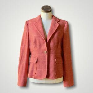 Rare J.CREW Wool Jacket Blazer Robert Noble SCOTTISH CLOTH 10