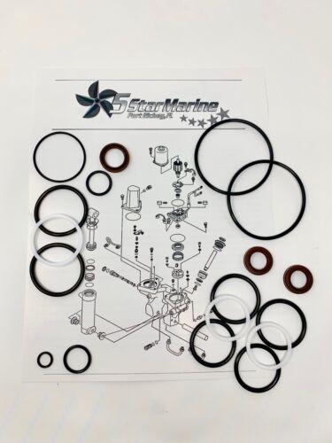 Rebuild Kit For Yamaha outboard 60 70 75 85 90HP trim tilt unit 6H1-12 6H1-15