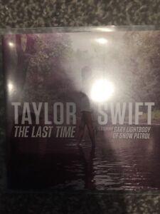 Taylor Swift The Last Time Rare One Track Uk Virgin Records Promo Cd Ebay