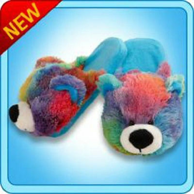 Pillow Pets Authentic Neonz Monkey Slippers Medium Toy Gift check size chart
