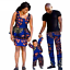 thumbnail 14 - Traditional African Family Clothing Matching Father Mother Son Baby Sets V11590