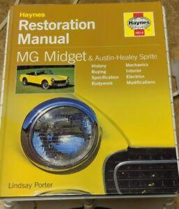 Haynes-Restoration-Manual-MG-Midget-and-Austin-Healey-Sprite