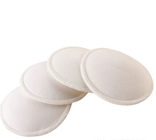 4pcs Soft Absorbent Reusable Nursing Baby Feeding Breast Pads Washable RDUJ