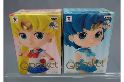 Sailor Moon Qposket petit Vol.1 set of 2 Sailor Moon /& Sailor Mercury Banpresto*