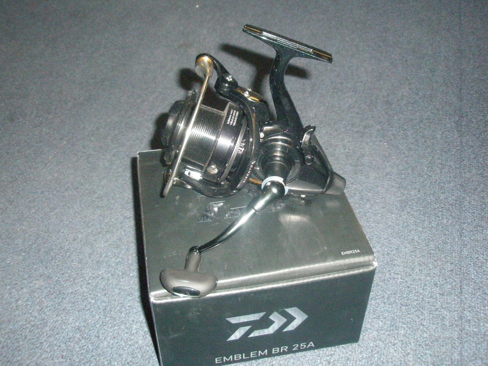 Daiwa Logo BR 25A Freerun Rolle Karpfenangeln ausrüstung