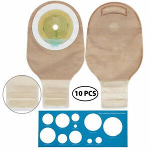 10x-LotFancy-Ostomy-Colostomy-Ileostomy-Stoma-Bag-One-Piece-Drain-Pouches-Supply