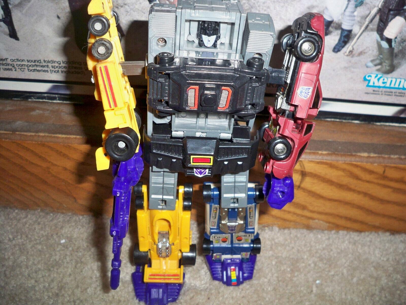 G1 Transformers Menasor no completar