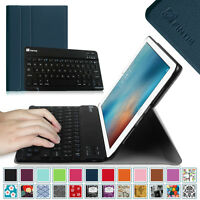Slim Fit Wireless Bluetooth Keyboard Case Stand Cover For Apple Ipad Tablet