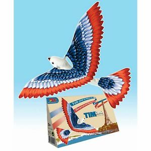 TIM-BIRD-79000-Orthinopter-Old-Time-Mechanical-Toy-IT-REALLY-FLIES-Tedco-Toys