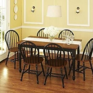 7 Pc Dining Set Dinette Sets 6 Chairs