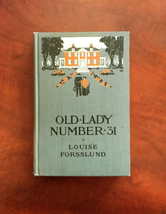 Old-Lady-Number-31-Louise-Forsslund-HC-Antique-Book-Decorative-Binding-1909