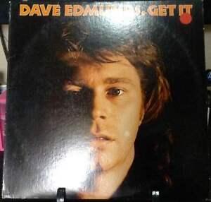 DAVE EDMUNDS Get It Album Released 1977 LP Vinyl/Record  Collection US pressed