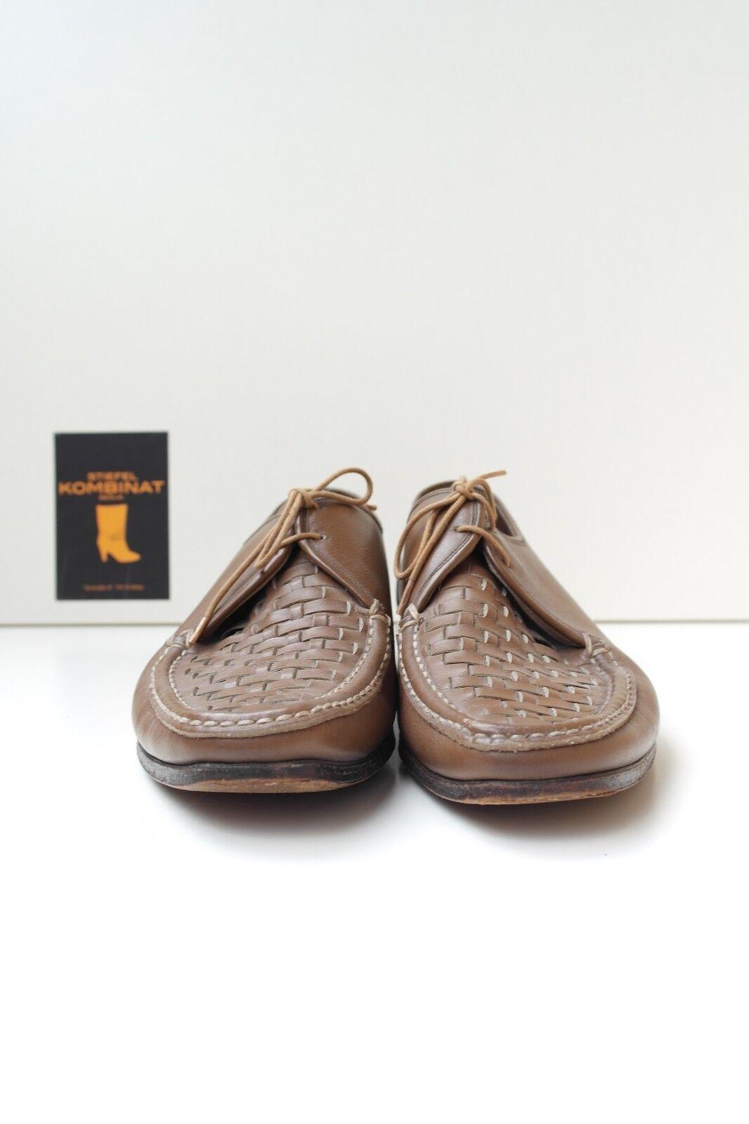 70er Salamander Herren Schuhe Halbschuhe VINTAGE Mokassin 42 Schnürschuhe TRUE VINTAGE Halbschuhe a88cee