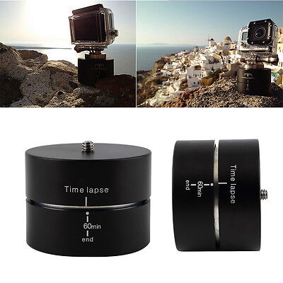 360 Degrees Panning Rotating Time Lapse Stabilizer Tripod Adapter for Gopro