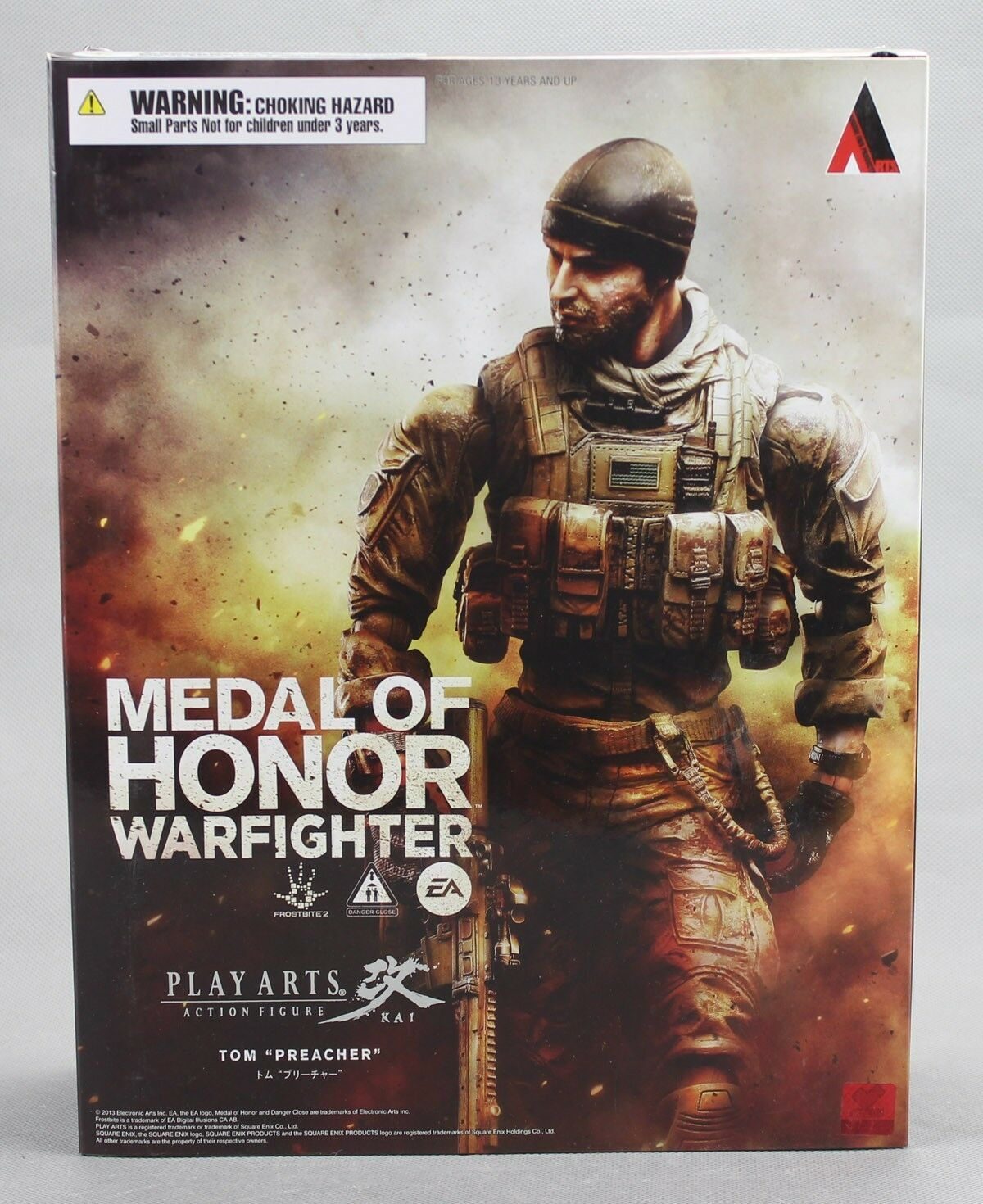 Square Enix PLAY ARTS Kai Medal of Honor Warfighter Tom Preacher Figure