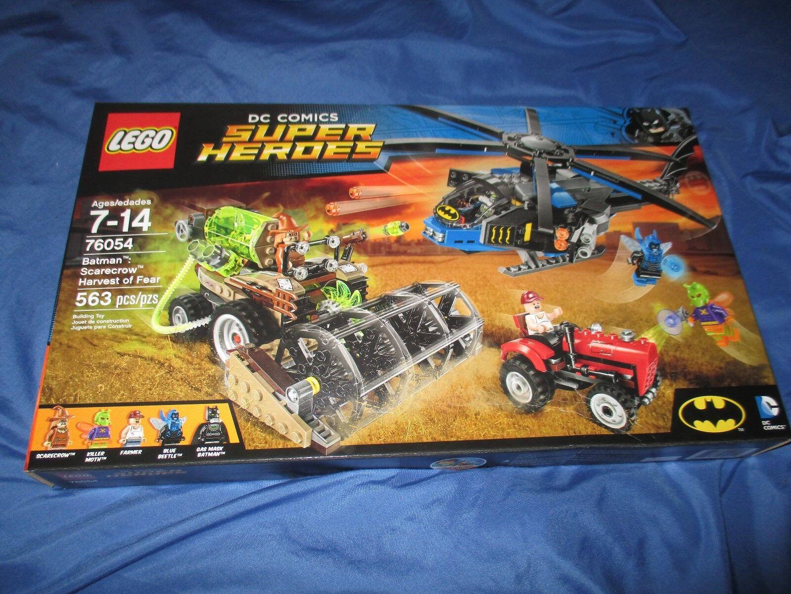 LEGO DC COMICS SUPER HEROES Batman Scarecrow Harvest of Fear w Minifigure