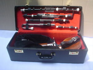HOLIDAY-OFFER-LIMITED-TIME-AFRICAN-BLACK-WOOD-UILLEANN-PIPES-HALF-SET