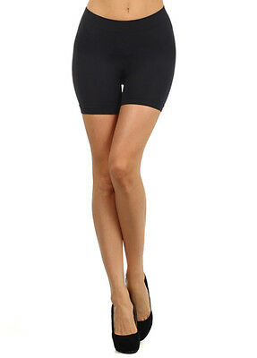 Victoria® Women's Comfy Lounge Seamless Spandex Bike Short Leggings - Athetic 50