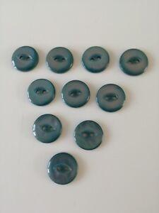 Petite Turquoise Fish Eye Boutons-afficher Le Titre D'origine Promouvoir La Santé Et GuéRir Les Maladies