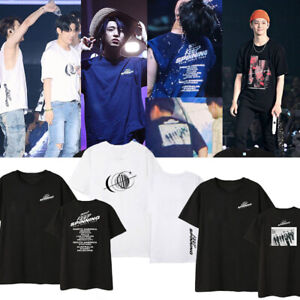 Kpop-GOT7-KEEP-SPINNING-T-shirt-Unisex-Loose-Shirt-JB-Mark-YoungJae-Fan-Goods