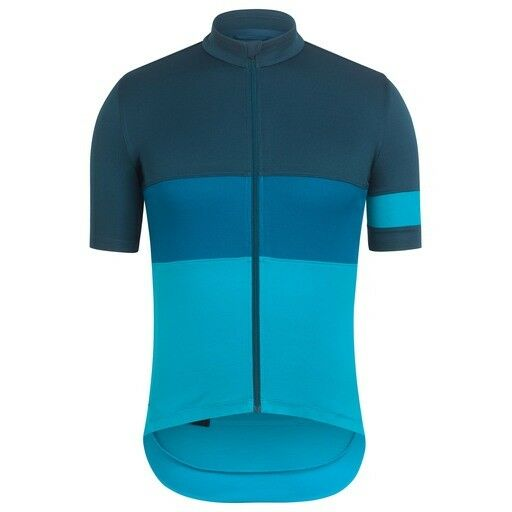 Rapha Short Sleeve Tricolour Jersey Dark Green Sizes Medium & Large BNWT