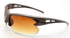 Mohawk Golf VANTAGE Sunglasses Bronze with Brown Gradient Lens Full Wrap Y113