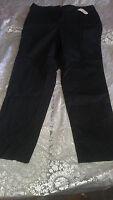 Talbots Women's Size 10 Stretch Black Pants