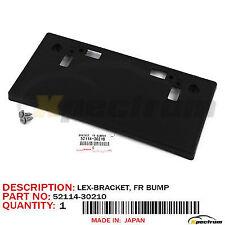 BRAN NEW OEM FRONT LICENSE PLATE BRACKET LEXUS GS350 F-SPORT 2016-18 52114-30290