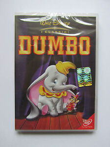 Cofanetto dvd nuovo sigillato dumbo i classici walt disney cartoni