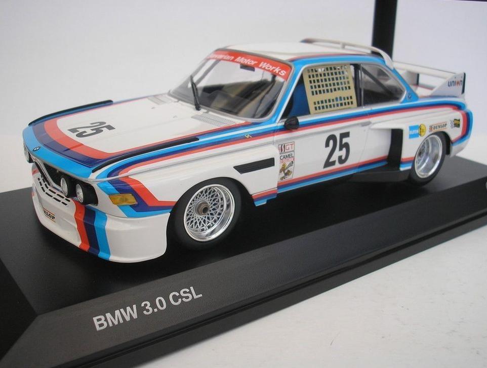 Original BMW Miniature 3.0 CSL hommage 1 18 Collector's modèle 80432454792 NEUF
