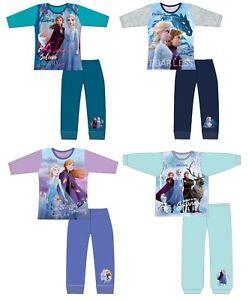 Disney Frozen Anna /& Elsa 18-24 Months 100/% Cotton Pyjama Set